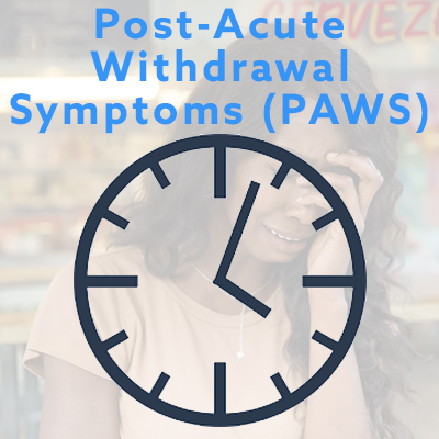 post-acute withdrawal symptoms