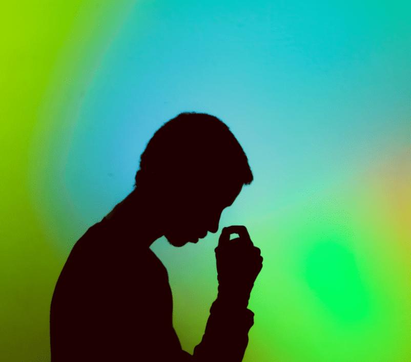 Man upset from valium withdrawal symptoms