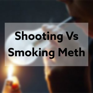 shooting meth vs smoking meth
