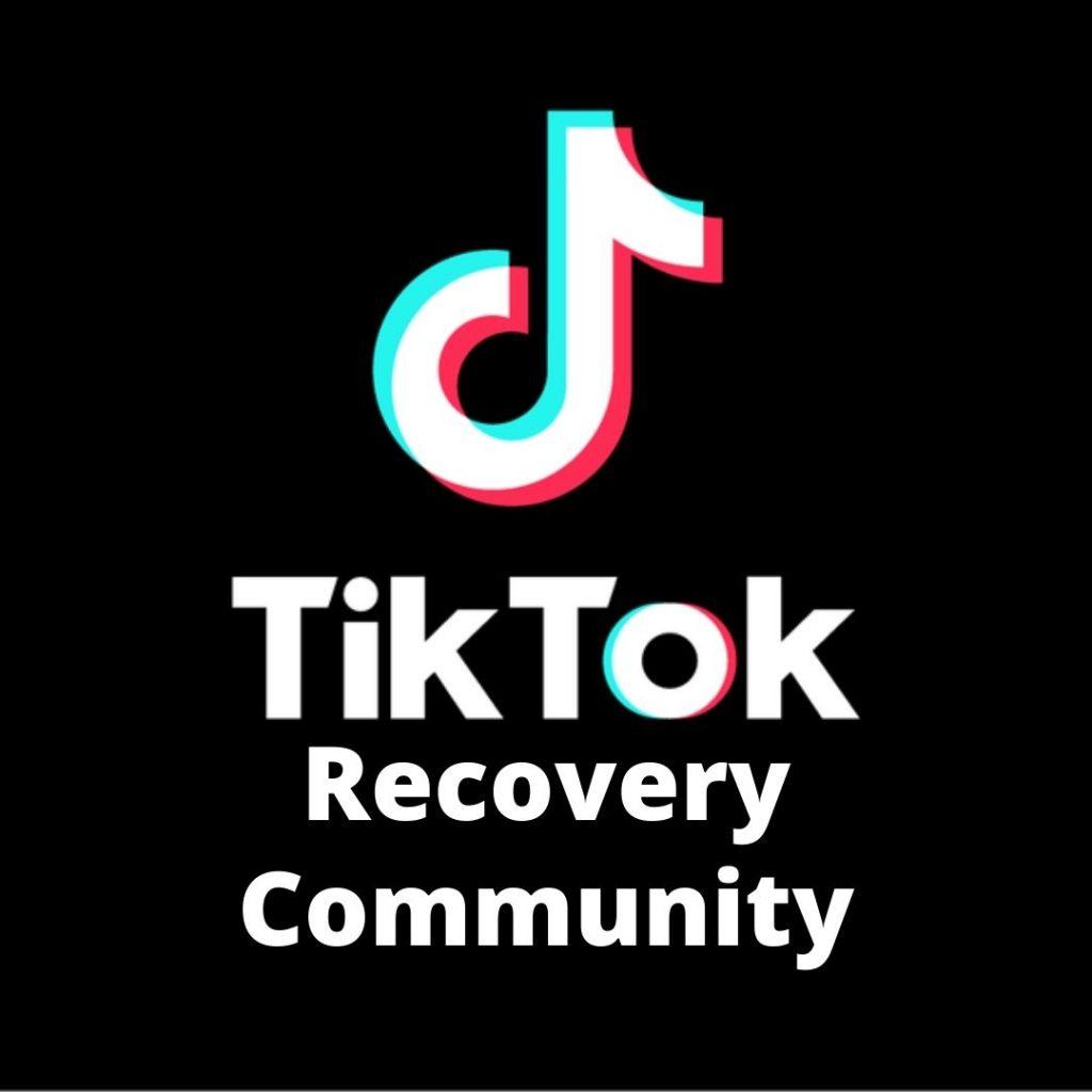 TikTok recovery community
